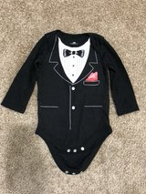 tux onesie -12m in Norfolk, Virginia