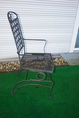 Patio Heavy Metal Chairs x 4 in Ramstein, Germany