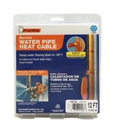 Frost King HC12A Automatic Electric Heat Cable Kit, 12 Feet, Black in St. Charles, Illinois
