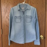 Women's Denim Shirt - small in Joliet, Illinois
