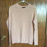 Peach Cable Knit Sweater in Algonquin, Illinois