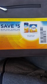 xyzal coupons in Naperville, Illinois