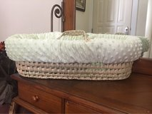 Baby Doll Bedding Heavenly Soft Doll Moses Basket Set, in Aurora, Illinois