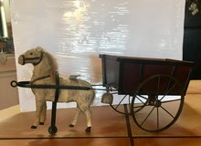 Country House Collection Flocked Horse & Cart in Alamogordo, New Mexico
