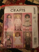 American Girl Doll style clothing patterns in Orland Park, Illinois