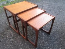 RETRO G PLAN TEAK NEST OF TABLES in Lakenheath, UK