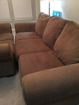 Couch and loveseat set in Kingwood, Texas