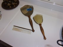 Three Piece Mirror, Comb and Brush Set in Fort Riley, Kansas