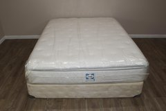 Queen Size Mattress set (Sealy Posturepedic Goldendale) in Tomball, Texas