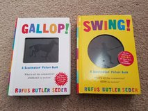 """Gallop!"" and ""Swing!"" Scanimation Picture Books in St. Charles, Illinois"