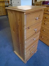 Tall pine chest of drawers in Lakenheath, UK