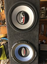 """12"""" subwoofer speaker box with speakers in Yucca Valley, California"""