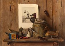 """Marsh Veterans"" Limited Edition Print  for Ducks Unlimited - David Noll artist in Joliet, Illinois"