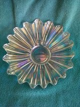Vintage Iridescent Glass Dish in Yucca Valley, California