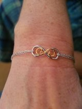 """Endless Love"" 925 Sterling Silver Adjustable Infinity Bracelet in Fort Campbell, Kentucky"