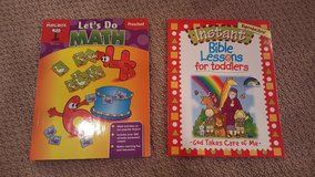 Math and Bible lessons for toddler and preschool in Naperville, Illinois