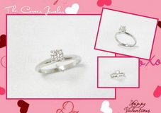 14K White Gold Hearts of Fire .50ct Diamond Ring in Camp Lejeune, North Carolina