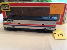Vintage HO-Scale Amtrak 106 Engine Lot #14 in Westmont, Illinois