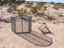 fire place screen and log holder in 29 Palms, California