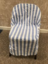 4 card-table chair covers in Naperville, Illinois
