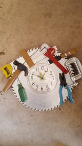 Carpentry Woodworking Wall Clock in Bartlett, Illinois