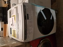 Brand new Samsung FlexWash 6-cu ft High Efficiency Front-Load Washer White 01 yr warranty/delivery in Fairfax, Virginia