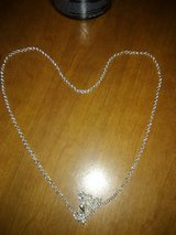 """925 sterling silver 22"""" chain necklace in Leesville, Louisiana"""