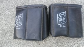 Mr America leather leg weights old fashioned/  backyard sale all weekend! in Travis AFB, California