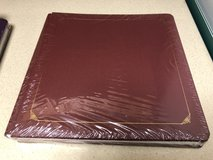 Creative Memories 12 x12 Burgandy Album NEW in Joliet, Illinois