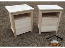 Order Handcrafted Customized Night Stands in Camp Lejeune, North Carolina