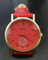 Red Geneva Watch in Bellevue, Nebraska