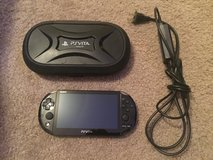 Sony Playstation vita with 64gb memory card and 17 games in Fort Irwin, California
