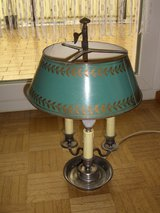 220V French Empire Bouillotte Style table lamp in Ramstein, Germany