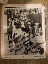 Eric Dickerson Autographed Photo in Alvin, Texas