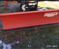 "7'6"" boss snow plow in Brockton, Massachusetts"
