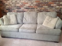 Suede grey Sofa in Naperville, Illinois