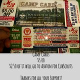 Cubscout Camp Cards for sale in DeRidder, Louisiana