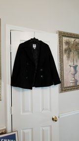 kids old Navy black coat size M 8 in Baytown, Texas