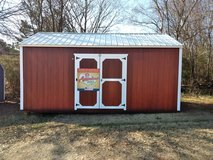 12x20 side utility shed in Shreveport, Louisiana