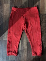 Red activewear Capri size M in Norfolk, Virginia