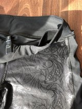 black lace patterned running pants in Norfolk, Virginia