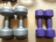 Plastic & cast iron weight sets in Ramstein, Germany