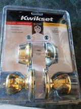 Kwikset Door Knob and Deadbolt in Fort Leonard Wood, Missouri