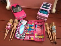 Barbie set in Fort Drum, New York