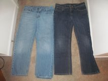 Boys size 14 Husky Jeans in Fort Benning, Georgia