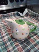 Polkadot teapot by Home Interior in Fort Polk, Louisiana