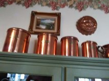 Copper canisters in Fort Polk, Louisiana