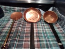3 Vintage Copper spoons in Fort Polk, Louisiana