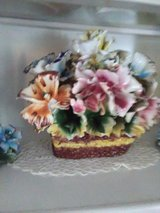 Capodimonte lg porcelain flower centerpiece in Fort Polk, Louisiana