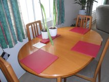 Dinning Table and Chairs in Lakenheath, UK